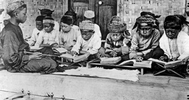 """Sekolah"""" Asli Jawa  Sebelum Mengenal Sekolah ala Barat (#1): Padepokan"""